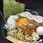 ばーばらラーメン - 油そば(全部のせ)