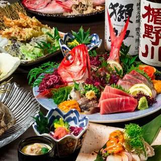 産地直送!海鮮料理8品2500円から多数ご用意♪