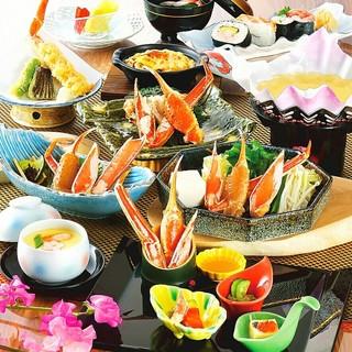 【会席料理】彩り豊かな料理の数々