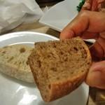 69299125 - [料理] お通しのパン アップ♪w