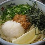 うどん田中 - 料理写真:ねぎ味噌うどん 530円 こだわりの自家製味噌で作るあっさりとした味わいのうどんです★