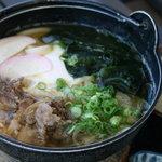 うどん田中 - 鍋焼きうどん 750円
