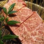 肉焼亭 うしのすけ - シャトーブリアン120g4000円