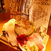 生け簀の銀次 - 料理写真:お刺身盛り合わせはなんと500円!!