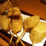 飯場 - 蓮根と山芋