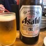 らーめん与七 - 2017年6月 瓶ビール