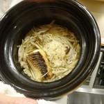 食場大野 - いさきと牛蒡の土鍋ご飯