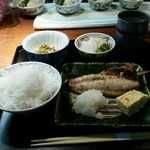 和の菜彩 さとう - さばの塩焼き定食(1200円)