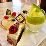 フランス菓子&カフェ ラ・ピニヨン - 一皿目@定番ではなく季節ものを攻めてみました♪