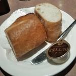 ラシーン - [料理] パン プレート全景♪w