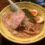 江川亭 - 中華麺 + 味付玉子 ☆