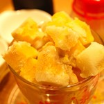 マンゴーカフェ 木の葉 - マンゴーアイスケーキ