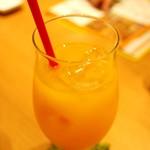 マンゴーカフェ 木の葉 - さっぱりマンゴージュース