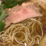 69306970 - 煮干しラーメン(750円)