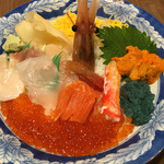 69307082 - オホーツク海鮮丼