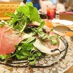 ConTERRAZZA新宿 - クレソンと生ハムのサラダ