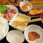 69308749 - 海の民宿定食     ¥1000