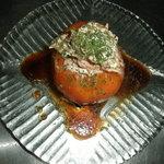 バー・マリーン - トマトとツナのサラダ。