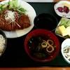 和食工房 東 - 料理写真:日替わりランチ チキンカツ定食 \670