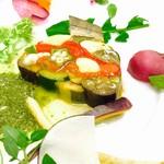 グランディール - 夏野菜のテリーヌ
