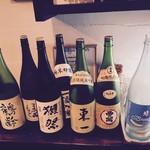 お酒とごはん ふぅふぅ - 日本酒