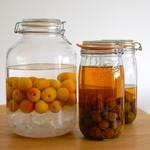 トライシクルカフェ - 当社の社長宅の庭でとれた梅を使用し、社長自らが仕込んだ渾身の梅酒