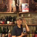 トライシクルカフェ - 店長みさきちゃん。川越出身のお姉さん。