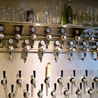 【宴会におすすめ◎】クラフトビール飲み放題コース5000円