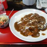 マサラ - 料理写真:「チキンカツカレー」750円