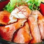 山城の郷 - 但馬牛ローストビーフ丼