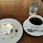 CoffeeLounge Lemon - [料理] この日のケーキセット 全景♪w