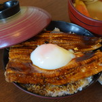 漁亭 浜や - 料理写真:季節のドンブリ【夏】煮あなご丼1,780円