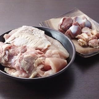 厳選した国産地鶏『阿波尾鶏』『京赤地どり』をご堪能♪
