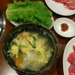 69316929 - 玉子スープ サンチュ