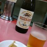 元祖つけ麺大王 - はい終了。今日は終了。だからビール!