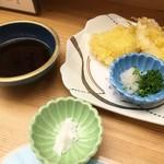 味処 大丸 - 鱚の天ぷら
