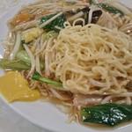中園亭 - 炒麺(あんかけ焼きそば)