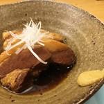 味処 大丸 - 大丸特製 豚の角煮