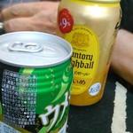 成田屋 - 三軒目くらいになると、アルコールの種類は問わない