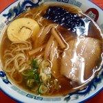 だるま軒 - 醤油ラーメン600円