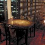 燦 - 【夜景を眺めるテーブル個室】2~6名様までの接待をはじめ、最大20名様まで利用可