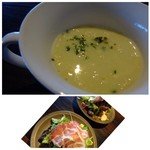 ノムカ+cafe - ◆共通・・コーンスープ。