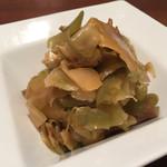 中国名菜 來杏 - 搾菜