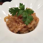 中国名菜 來杏 - クラゲの酢の物仕立て