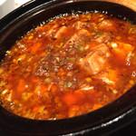 中国名菜 來杏 - 陳麻婆豆腐 土鍋仕立て