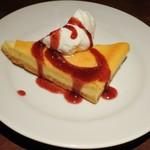 アマーク ド パラディ 寒梅館  - ベイクドチーズケーキ450円