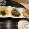 たちばな寿司 - 料理写真:副菜3品