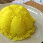 トポリ - 「ガフガジィキャバーブ」(1300円) ナンかバスマティライスつき。マトンとチキンのジューシーなカバブ!焼き野菜つき。