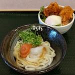 はなまるうどん - ミニ丼セット(580円)
