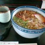 蕎麦処 大武 - 山菜そば